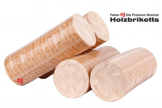 "Fetzer-Holzbriketts ""Die Premium Brenner"""